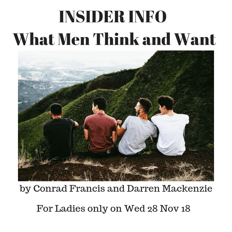 Ladies Only – What Men Really Think Workshop